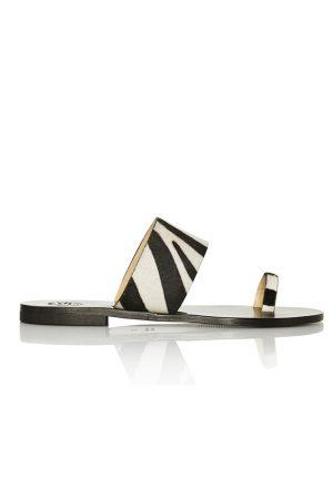 Sandal ASTRID zebra - Atelier ATP