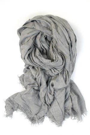 Azzurra - grå sjal - FALIERO SARTI