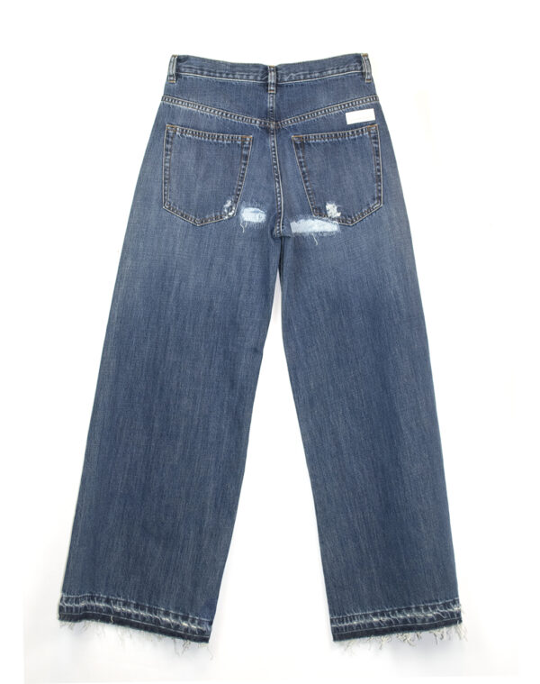 Jeans wide leg blue - NINE IN THE MORNING