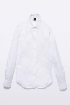 Skjorta bomullspoplin vit - ASPESI
