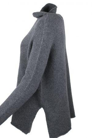 Ulltröja grå - MAJESTIC
