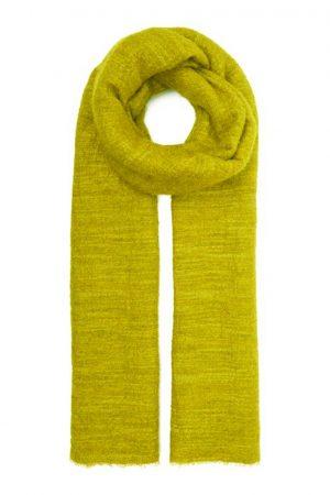 GARZY gulgrön cashmeresjal - FALIERO SARTI