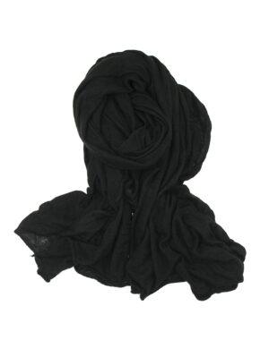 New Petra knitted shawl black - FALIERO SARTI