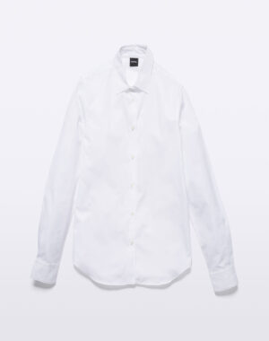 Shirt cotton poplin white - ASPESI