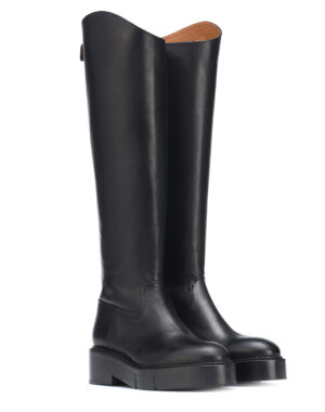 Black leather boots Canada - ROBERT CLERGERIE