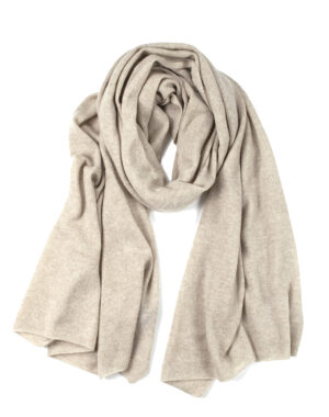 Cashmere shawl Paris sand - LISA YANG