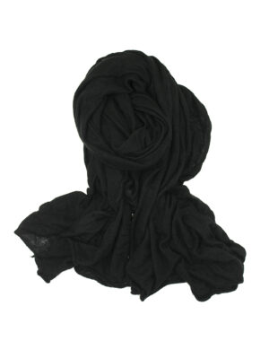 New Petra knitted shawl black - FALIERO SARTI